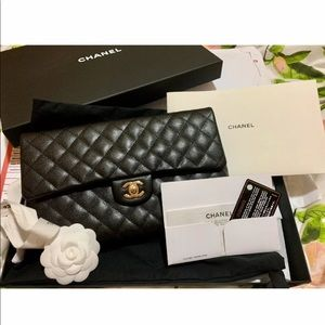 Chanel Timeless Classic Flap Clutch